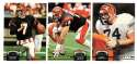 1992 Topps Stadium Club (1-700) Football Team Set - CINCINNATI BENGALS