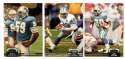 1992 Topps Stadium Club (1-700) Football Team Set - DETROIT LIONS
