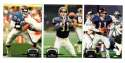 1992 Topps Stadium Club (1-700) Football Team Set - NEW YORK GIANTS