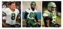 1992 Topps Stadium Club (1-700) Football Team Set - NEW YORK JETS