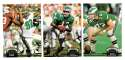 1992 Topps Stadium Club (1-700) Football Team Set - PHILADELPHIA EAGLES