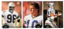 1992 Topps Stadium Club (1-700) Football Team Set - SEATTLE SEAHAWKS