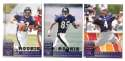 1998 Leaf Rookies and Stars Football (1-300) Team Set - BALTIMORE RAVENS