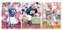 1998 Leaf Rookies and Stars Football (1-300) Team Set - BUFFALO BILLS