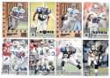 1998 Leaf Rookies and Stars Football (1-300) Team Set - DALLAS COWBOYS