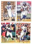 1998 Leaf Rookies and Stars Football (1-300) Team Set - MINNESOTA VIKINGS
