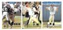 1998 Leaf Rookies and Stars Football (1-300) Team Set - NEW ORLEANS SAINTS