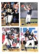 1998 Leaf Rookies and Stars Football (1-300) Team Set - SAN DIEGO CHARGERS