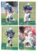 1998 Leaf Rookies and Stars Football (1-300) Team Set - SEATTLE SEAHAWKS