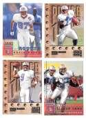 1998 Leaf Rookies and Stars Football (1-300) Team Set - TENNESSEE OILERS
