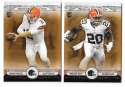 2014 Topps Museum Collection Copper Football - CLEVELAND BROWNS