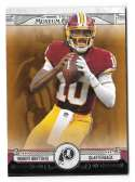 2014 Topps Museum Collection Copper Football - WASHINGTON REDSKINS