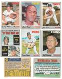1970 O-Pee-Chee (OPC) VG-EX - MINNESOTA TWINS Near set Team Set - 4 Cards