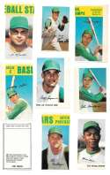 1969 MLB PhotoStamps - OAKLAND As Team set