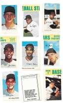 1969 MLB PhotoStamps - HOUSTON ASTROS Team set