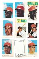 1969 MLB PhotoStamps - ST LOUIS CARDINALS Team Set