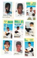 1969 MLB PhotoStamps - SAN FRANCISCO GIANTS Team Set