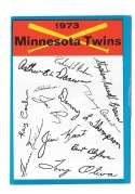 1973 Topps Blue Team Checklist - MINNESOTA TWINS