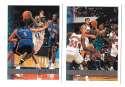 1997-98 Topps Basketball Team Set - Charlotte Hornets