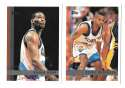 1997-98 Topps Basketball Team Set - Cleveland Cavaliers
