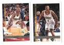 1997-98 Topps Basketball Team Set - Denver Nuggets