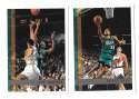 1997-98 Topps Basketball Team Set - Detroit Pistons