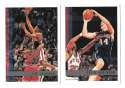 1997-98 Topps Basketball Team Set - New Jersey Nets