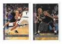 1997-98 Topps Basketball Team Set - Sacramento Kings