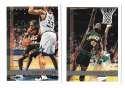 1997-98 Topps Basketball Team Set - Seattle Supersonics
