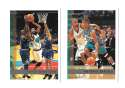 1997-98 Topps Basketball Team Set - Vancouver Grizzlies