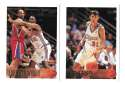 1996-97 Topps Basketball Team Set - Los Angeles Clippers