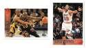 1996-97 Topps Basketball Team Set - Miami Heat