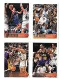 1996-97 Topps Basketball Team Set - Utah Jazz