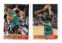 1996-97 Topps Basketball Team Set - Vancouver Grizzlies
