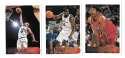 1996-97 Topps Basketball Team Set - Washington Bullets