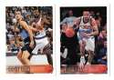 1996-97 Topps Basketball Team Set - Cleveland Cavaliers missing #22