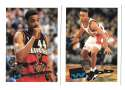 1995-96 Topps Basketball Team Set - Atlanta Hawks