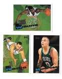 1995-96 Topps Basketball Team Set - Boston Celtics