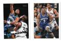 1995-96 Topps Basketball Team Set - Charlotte Hornets