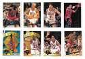 1995-96 Topps Basketball Team Set - Chicago Bulls