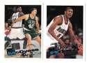 1995-96 Topps Basketball Team Set - Denver Nuggets