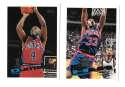 1995-96 Topps Basketball Team Set - Detroit Pistons