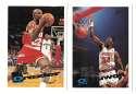 1995-96 Topps Basketball Team Set - Houston Rockets
