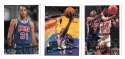 1995-96 Topps Basketball Team Set - New Jersey Nets