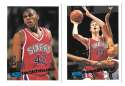 1995-96 Topps Basketball Team Set - Philadelphia 76ers