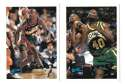 1995-96 Topps Basketball Team Set - Seattle Supersonics