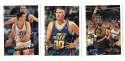 1995-96 Topps Basketball Team Set - Utah Jazz