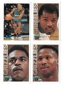 1995-96 Topps Basketball Team Set - Vancouver Grizzlies