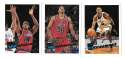 1995-96 Topps Basketball Team Set - Washington Bullets