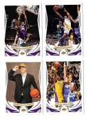 2004-05 Topps Basketball Team Set - Los Angeles Lakers